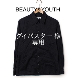 ビューティアンドユースユナイテッドアローズ(BEAUTY&YOUTH UNITED ARROWS)の《定価 ¥15,120》BEAUTY&YOUTH シャツ(シャツ)