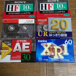 カセットテープ 6本(その他)