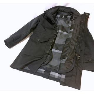 ブラックレーベルクレストブリッジ(BLACK LABEL CRESTBRIDGE)のブラックレーベル クレストブリッジ コート 3way  黒(ステンカラーコート)