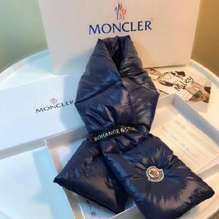 モンクレール(MONCLER)のMONCLER モンクレール  マフラー ダウン(マフラー/ショール)
