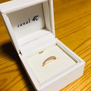 カナルヨンドシー(canal4℃)の【再出品】カナル4℃ ピンキーリング 5号(リング(指輪))