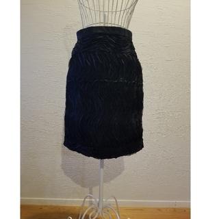 クーム(Coomb)のCoomb  ブラックチュールスカート(ひざ丈スカート)