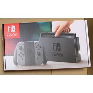 ニンテンドースイッチ(Nintendo Switch)の【未開封新品】Nintendo Switch グレー:ニンテンドー スイッチ(家庭用ゲーム機本体)