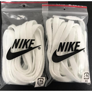 ナイキ(NIKE)のNIKE  靴紐 白色(その他)