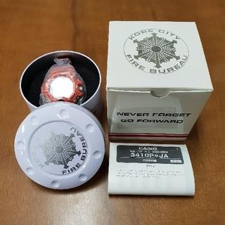 ジーショック(G-SHOCK)のG-SHOCK 神戸市消防局 コラボモデル(腕時計(デジタル))