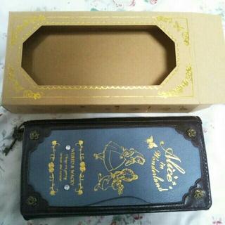 アクシーズファム(axes femme)のアリスコラボ ブック型長財布(財布)