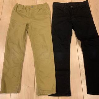ジーユー(GU)のズボン2着セット(パンツ/スパッツ)