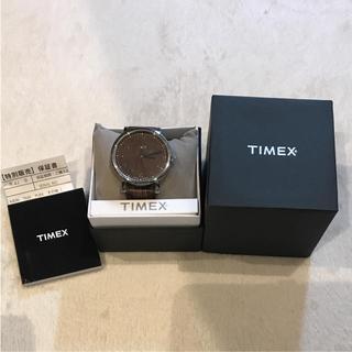 タイメックス(TIMEX)のTIMEX男女兼用レザー 腕時計(腕時計(アナログ))