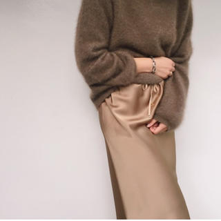 プラージュ(Plage)のPlage  サテンスカート(ひざ丈スカート)