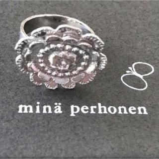 ミナペルホネン(mina perhonen)のお値下げ‼️ミナペルホネン シルバーリング・プチプレゼント付き(リング(指輪))