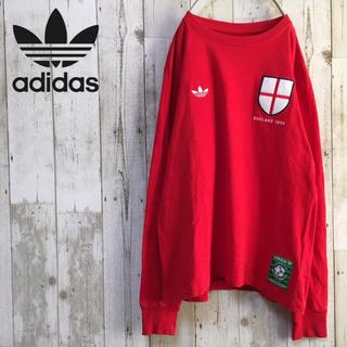アディダス(adidas)のadidas アディダス トルコ製 長袖Tシャツ ロンT  トレフォイルロゴ(Tシャツ/カットソー(七分/長袖))