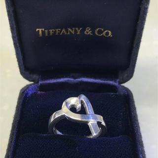 ティファニー(Tiffany & Co.)のTIFFANY ラヴィングハート リング 8号(リング(指輪))