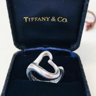 ティファニー(Tiffany & Co.)のTIFFANY オープンハート リング 8号(リング(指輪))