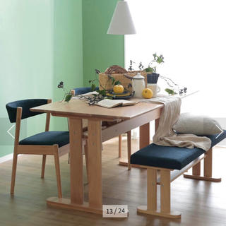 LOWYAダイニングベンチセット(4人掛) (ダイニングテーブル)
