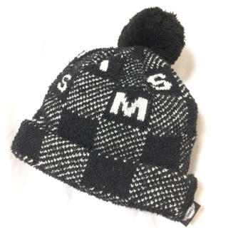 シムス(SIMS)のSIMS ビックポンポンニット帽✧⁎(ニット帽/ビーニー)