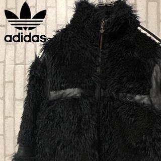 adidas - アディダス フェイクファーブルゾン 超レア❗️