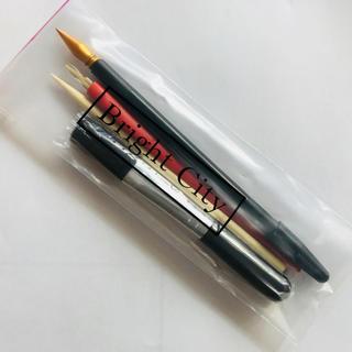 【新品*即発送】スクラッチアートペン▲4点セット♢細部にも広い面にも♢専用ペン(絵筆 )