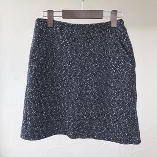 エージープラス(a.g.plus)の美品ツイード風スカート♡a.g.plus(ミニスカート)