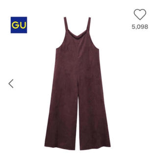 GU - 大人気オーバーオール 黒