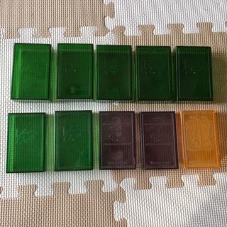 プラスチックの名刺ケース 10個(オフィス用品一般)