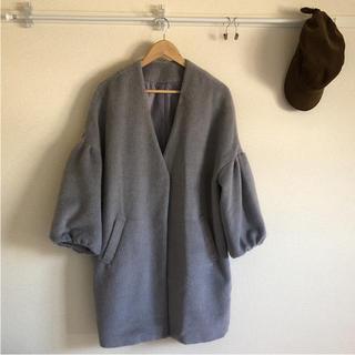 しまむら - しまむら 美品 オーバーサイズ バルーン袖 ファーコート シャギー