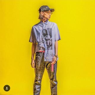アップルバム(APPLEBUM)のapple bum stripe SS shirt XL(シャツ)