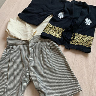 袴 男の子80サイズ(和服/着物)