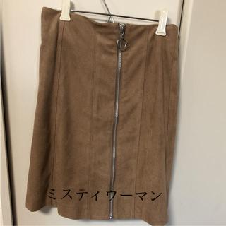 ミスティウーマン(mysty woman)のミスティウーマン  スカート(ひざ丈スカート)
