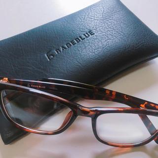 レイジブルー(RAGEBLUE)のRAGEBULE伊達眼鏡(伊達メガネ)(サングラス/メガネ)
