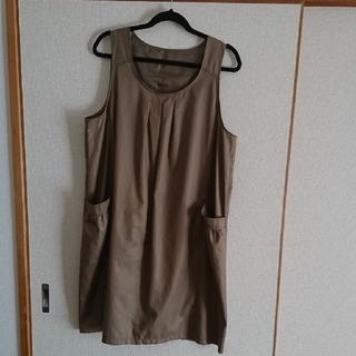 STYLE ME(東京スタイル)  ジャンパースカート LLサイズ(ひざ丈ワンピース)