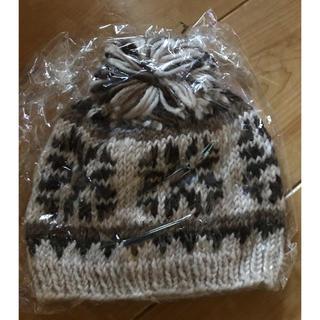 キッズフォーレ(KIDS FORET)のキッズフォーレ 帽子 毛100%(帽子)