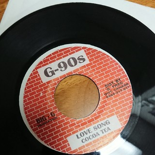 最終在庫人気盤!cocoa tea love song(レコード針)