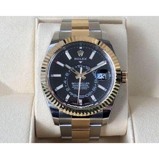 ロレックス(ROLEX)の【専用出品】 ロレックス スカイドゥエラー 326933 ランダム番 黒文字盤(腕時計(アナログ))