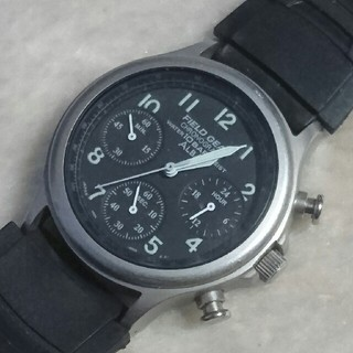 アルバ(ALBA)の【中古】SEIKO ALBA FIELD GEAR クロノグラフ メンズ腕時計(その他)