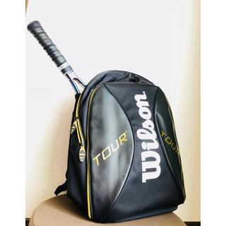 ウィルソン(wilson)の【美品】テニスラケットバッグ Wilson (ウィルソン) リュック(バッグ)