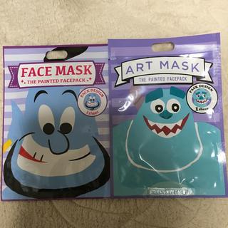 ディズニー(Disney)のフェイス マスク シート 2枚(パック / フェイスマスク)