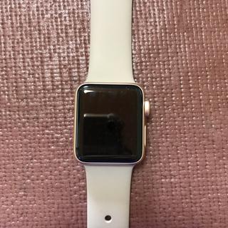 アップルウォッチ(Apple Watch)のアップルウォッチseries2 38mm(腕時計(デジタル))
