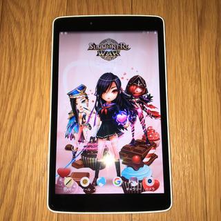 エルジーエレクトロニクス(LG Electronics)のJ:COM LG G Pad 8,0 White LG-v480(タブレット)