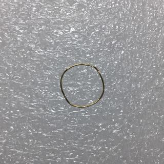 アッシュペーフランス(H.P.FRANCE)の極細リング k18  難あり(リング(指輪))