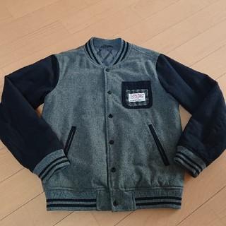 シマムラ(しまむら)の良品☆しまむら ×ハリスツイードスタジアムジャンパー サイズ160(ジャケット/上着)