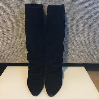 アンスクウィーキー(UNSQUEAKY)のアンスクウィーキー スエードブーツ(ブーツ)