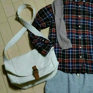 ムジルシリョウヒン(MUJI (無印良品))のキャンバスbag♡(ショルダーバッグ)