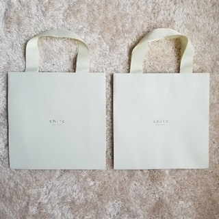 shiro ショップ袋2枚セット