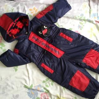 サンリオ(サンリオ)のお値下げ90 スキーウェア 紺 ピングー(ウエア)