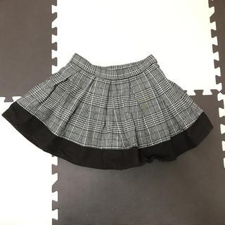 ハニーミーハニー(Honey mi Honey)のチェックスカート♡ブラウン(ミニスカート)