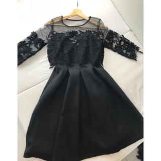 結婚式ドレス、二次会ドレス(ひざ丈ワンピース)