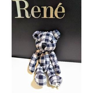 ルネ(René)の🎄お値下げ🎄ルネ  ティディベア ノベルティ(その他)
