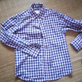 ハーヴァード(HARVARD)の ハーバード ピンク青チェックシャツ HARVARD(シャツ)