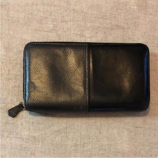 アッシュペーフランス(H.P.FRANCE)のJACQUESLECORREバイカラー長財布(財布)