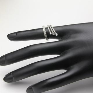 ポンテヴェキオ(PonteVecchio)のポンテヴェキオ デザインリング ダイヤ PONNTEVEKIO K18WG (リング(指輪))